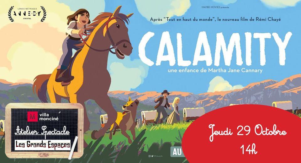 """Séance spéciale Calamity précédée d'un atelier-spectacle """"Les femmes au cinéma"""" // 29/10 // 14h"""