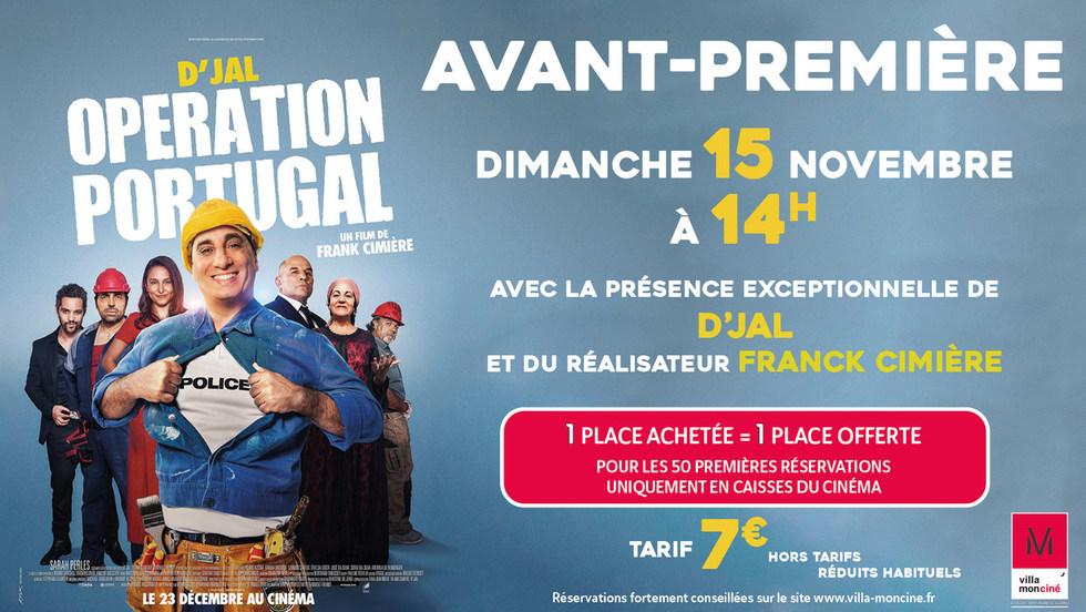 AVP Opération Portugal // en présence de D'Jal et de Frank Cimière, réalisateur du film // 15/11 // 14H