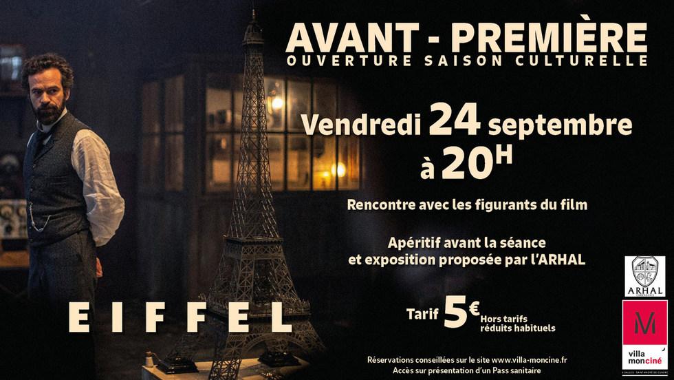 Avant-Première Ouverture saison culturelle : Eiffel - Vendredi 24 septembre à 20h