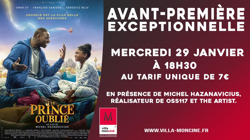 Avant-première Le Prince Oublié // Mercredi 29 janvier à 18h30 , avec la présence exceptionnelle du réalisateur Michel Hazanavicius